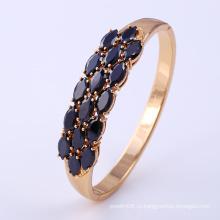 Модные имитационные ювелирные изделия 18k Gold-Plated Elegant Cubic Zirconia Bangle