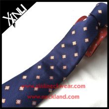 Top Quality 100%Silk Jacquard Polka Wholesale Neck Tie