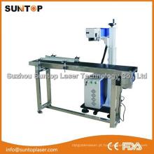 Linha de produção Máquina de marcação a laser / Data de produção Máquina de marcação a laser
