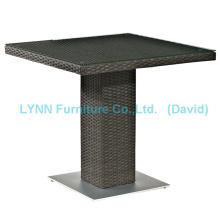 Wicker Möbel Moderne Design Square Rattan Tisch