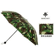 """Paraguas de moda jefe 25"""" a prueba de viento paraguas plegable táctico Camo paraguas"""