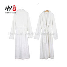 Customized adults 100% cotton hotel long bathrobe