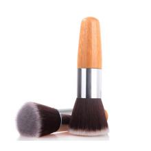 Single Short Bamboo Handle Makeup Brush Foundation Brush