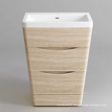 MDF Painting Free Mounted Modern Bathroom Cabinets set
