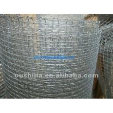 Квадратная проволочная сетка (заводская)