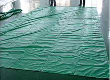 soundproof pvc tarpaulin for building protection material