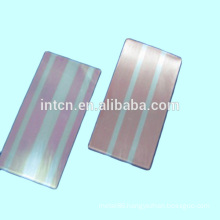 Contact material Silver inlay clad metal strip