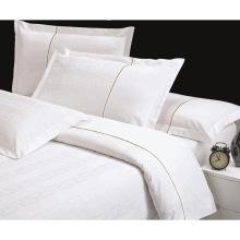 100% Algodão ou T / C 50/50 Jacquard Hotel / Home Bedding Set (WS-2016029)