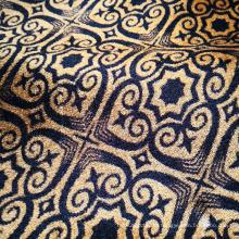 Knitting Polyester Lining Jacquard Curtain Fabric