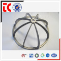 Chromated custom made lamp cover die casting