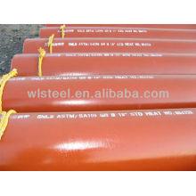 Tubo de aço sem costura ASTM A106 / A53 GR.B SCH40 / SCH80