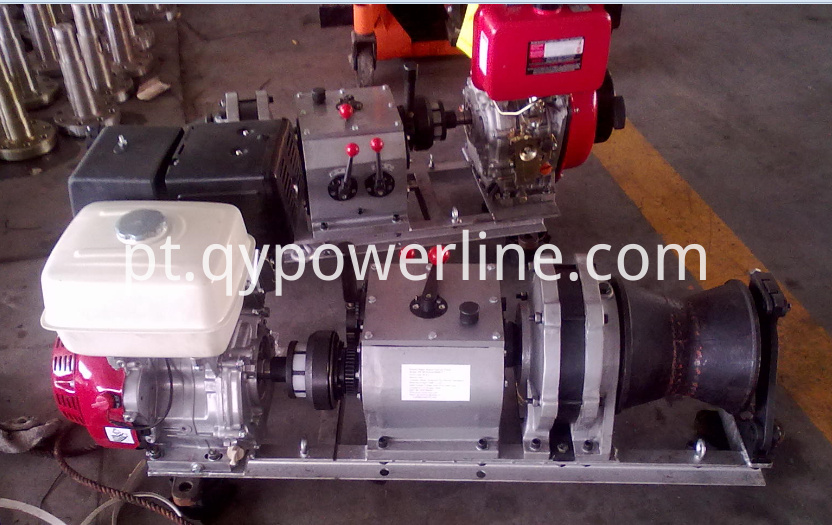 5 Ton High Speed Winch,Petrol Powered Winch,Gasoline Winch
