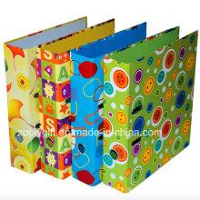 Venta al por mayor de cartón de impresión de papel de palanca archivo arch carpeta