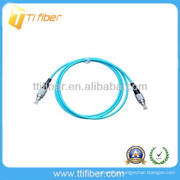 FC 10G OM3 Simplex Fibra óptica patch cord 3m
