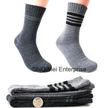 Heißer Verkauf hochwertiger Männer Winter Thermo Frottee Socken