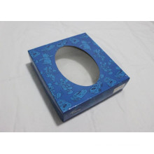 Paper Packing Box with Oval-Shaped Window