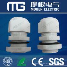 Hohe Qualität starke Tragfähigkeit PG-9 DIN schwarze Farbe Arten von Kabelverschraubungen