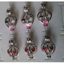 Wholesale Love Pearl Facial Makeup Cage Pendant