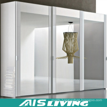 Modern White Pull out Melamine Walk in Wardrobe Closet (AIS-W020)