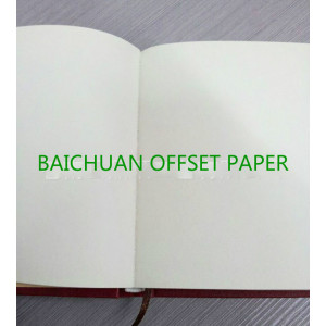 High quality natural white offset printing paper