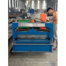 Máquina formadora de rolos de chapa metálica ondulada