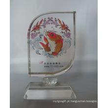 Moldura de cristal de alta qualidade fabricada na China