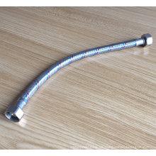 Manguera de agua flexible de tocador trenzada de acero inoxidable