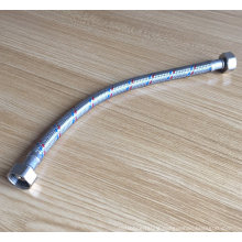 Stainless steel braided pipe toilet flexible water hose