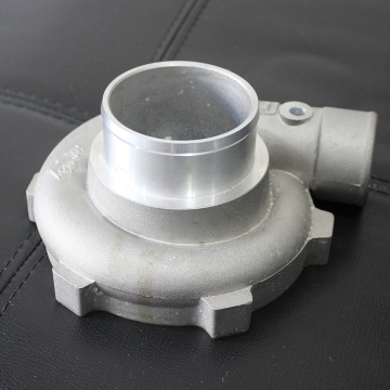 Cast Aluminium Turbocharger Compressor Housing