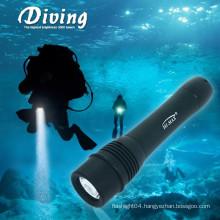 portable led diving led lights searchlight