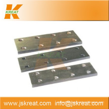 Elevator Parts|Guiding System|Elevator Cold-Drawn Guide Rail Fishplate|joint plate