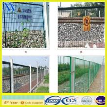 Clôture de cadre en PVC vert 70X150mm