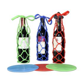 Wine Drink Basket Silicone Bottle Holder