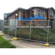 Временный забор / строительство ограждения (Anping factory)