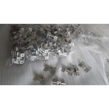 Высокая плотность и прочность ДПК террасная доска из нержавеющей стали клипы