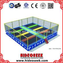 Vergnügungspark Indoor Trampolin Ausrüstung für Kinder und Erwachsene