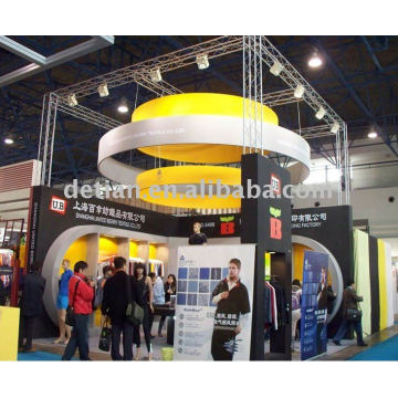 booth manufacturer and design company Shanghai detian display