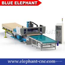 Precio de fábrica 3d enrutador cnc para trabajar la madera, línea de producción de muebles enrutador cnc para la fabricación de muebles para el hogar