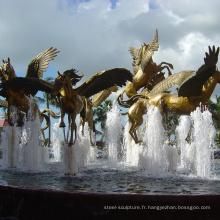 Fontaine d'eau de cheval de conception populaire (service personnalisé est disponible)