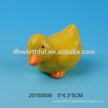 Décoration en céramique série animale en forme de canard