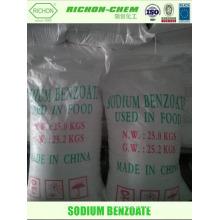 Melhor preço na África do Sul para a Produção Industrial C7H5NaO2 CAS N ° 532-32-1 ÁCIDO BENZÓICO SÓDIO SAL