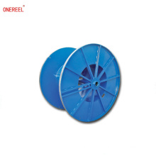 welding reinforced metal spool for wire cable rope