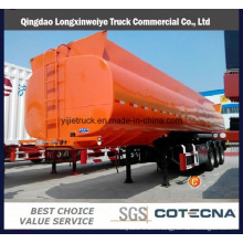 4 Axles Tank Capacity 55000L to 72000L Steel Fuel Tanker Semi-Trailer