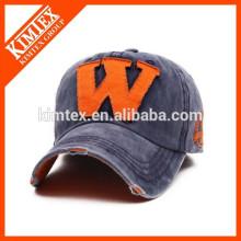 Chapeau de camionneur de casquette de baseball de détresse en forme de broderie personnalisée
