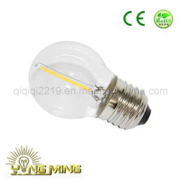 1W G45 Clear Dim E27 Shop Work Light LED Filament Bulb