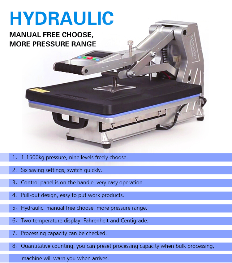 FREESUB Automatic Large Format Heat Press Machine
