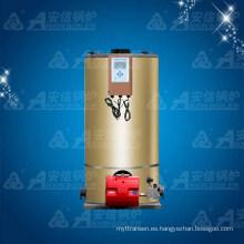 Fabricantes verticales de la caldera de agua caliente Clhs 0.7