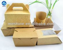 Meshine food packaging-kraft food box
