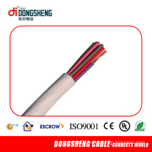 4 Core Telephone Flat Cable with CE RoHS ISO