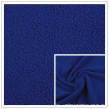 Solid Dyed Spun Polar Fleece Plain Polar Fleece 100% Polyester Terry Fleece High Quality